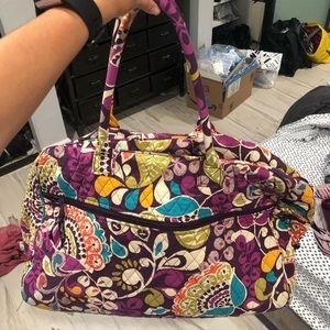 Very Bradley Floral Weekender Bag